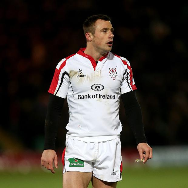 Ireland winger Tommy Bowe marked his return to the Ulster starting line-up with the opening try