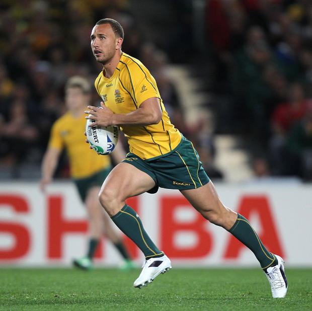 Australia international Quade Cooper excelled for the Reds