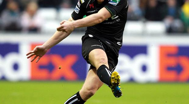 Dan Biggar scored a try, two conversions and a penalty