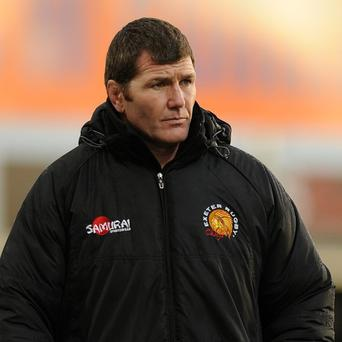 Rob Baxter is determined to guide Exeter back into the Heineken Cup