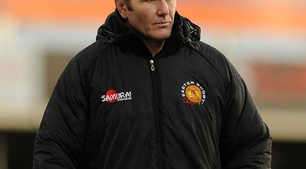 Rob Baxter insists there is no pressure on Exeter to reach the Heineken Cup