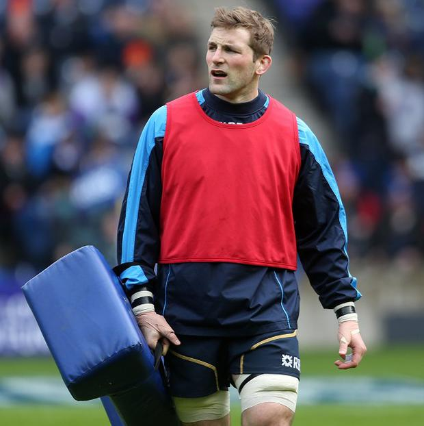 John Barclay has played 41 times for Scotland