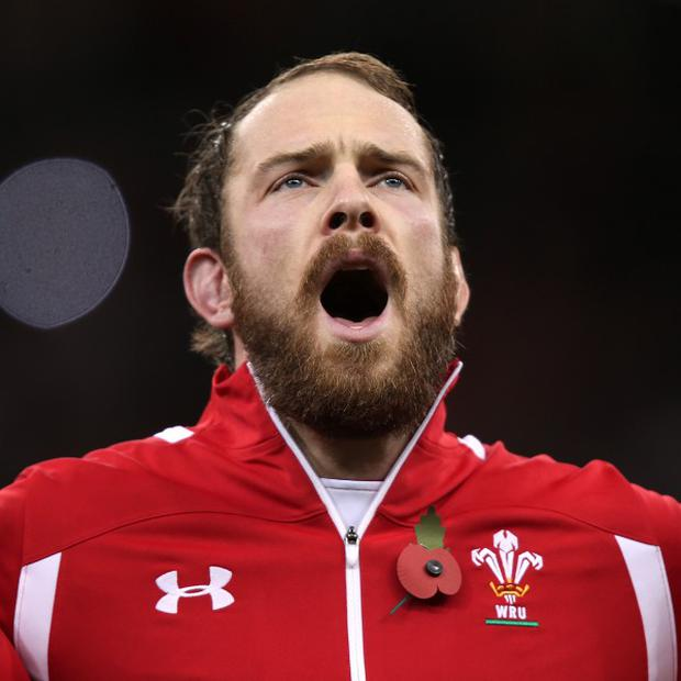 Alun Wyn Jones missed three months of the season with a shoulder injury