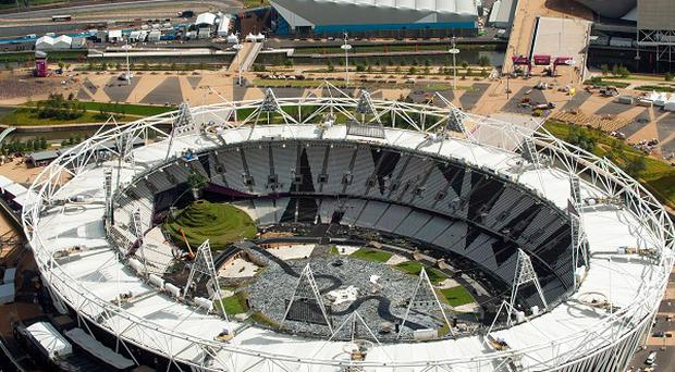 The Olympic Stadium is set to host matches during the 2015 Rugby World Cup