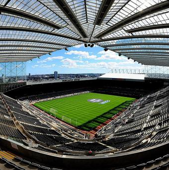 St James' Park will host three Rugby World Cup clashes