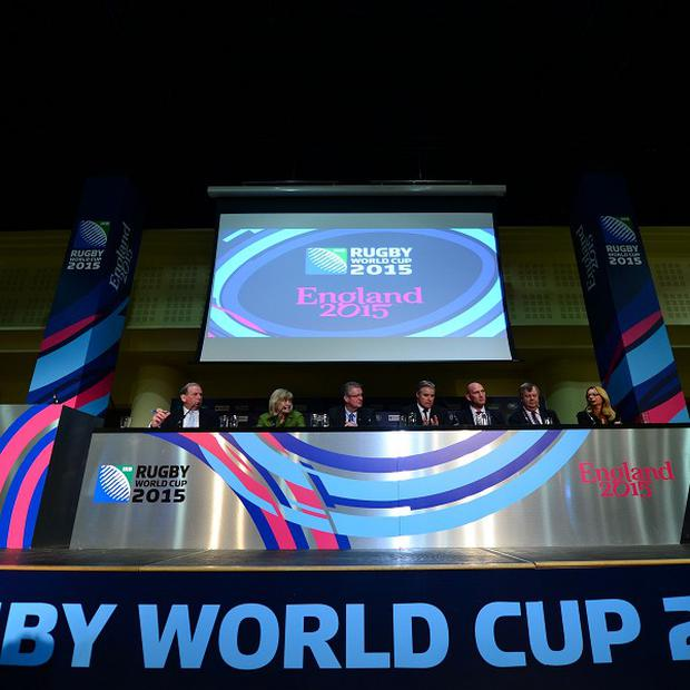 England Rugby 2015 unveiled the 13 venues that will stage the 48 World Cup matches on Thursday