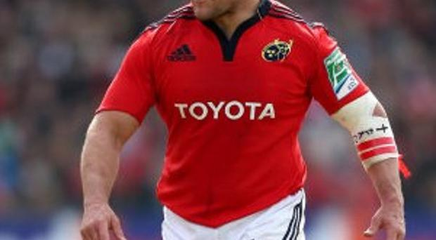 BJ Botha scored the decisive try as Munster beat Zebre