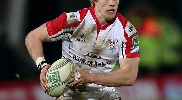 Andrew Trimble scored a second-half brace for Ulster