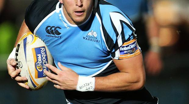 DTH van der Merwe, pictured, and Sean Maitland scored a try apiece for Glasgow
