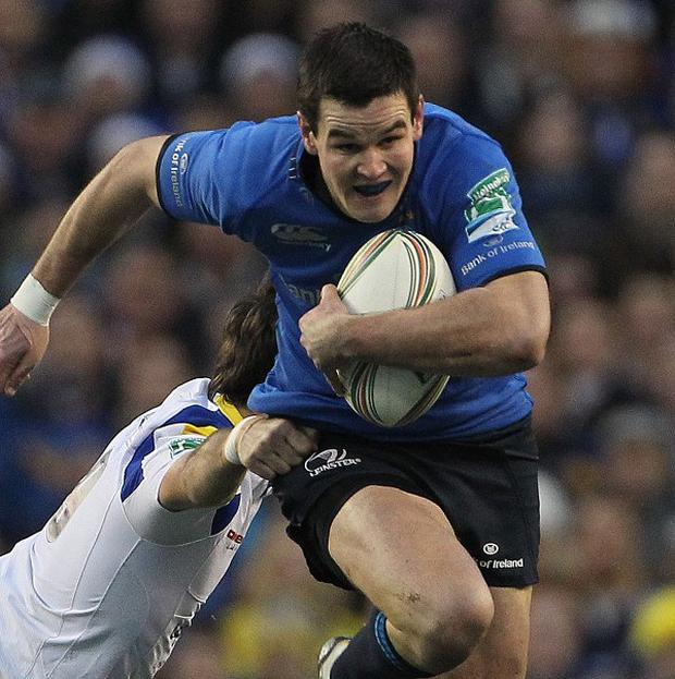 Jonathan Sexton scored 15 points for Leinster