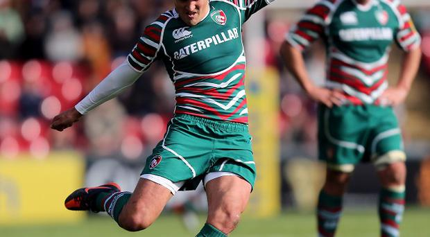 Tigers fly-half Toby Flood contributed 12 points