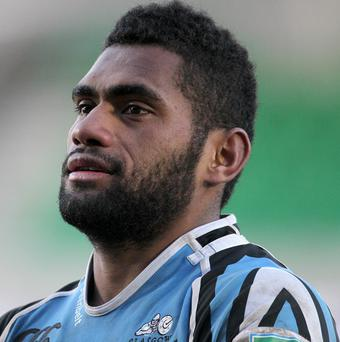 Niko Matawalu was recently named Glasgow's player of the year