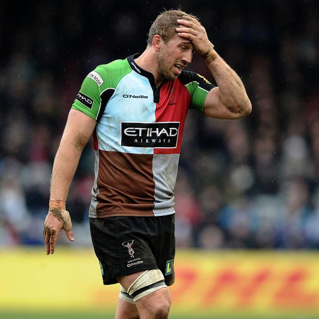 Chris Robshaw missed out on a place in the British and Irish Lions squad