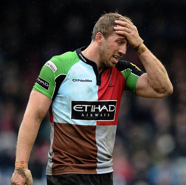 Chris Robshaw has been ruled out