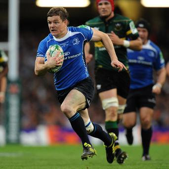 Brian O'Driscoll has failed to recover from a back injury