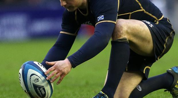 Greig Laidlaw impressed during the Six Nations