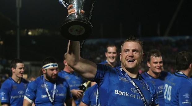 Leinster lifted the Amlin Challenge Cup in 2013