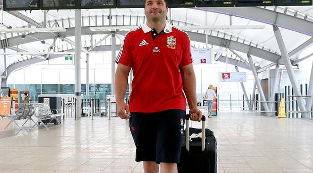 Alex Corbisiero only joined up with the British and Irish Lions on Saturday