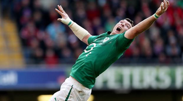 Peter O'Mahony captained Ireland for the first time in Houston
