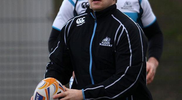 Scotland hooker Pat MacArthur's Test debut lasted just two minutes
