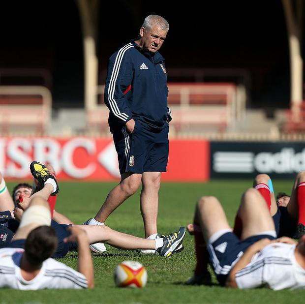 Warren Gatland has opted to rest a number of players for the first Lions Test against Australia