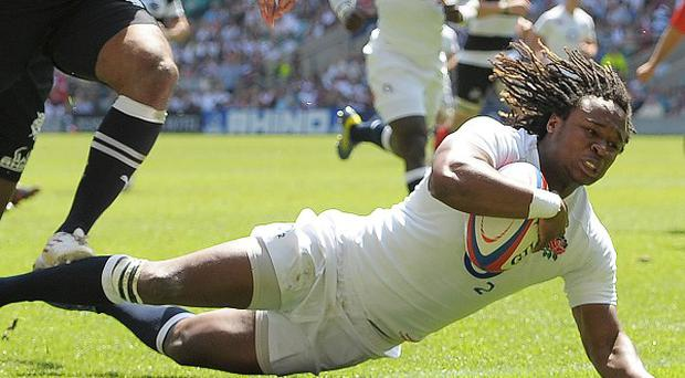 Marland Yarde will play on the left wing for England this Saturday