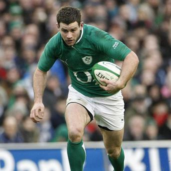 Fergus McFadden crossed three times in Ireland's big victory