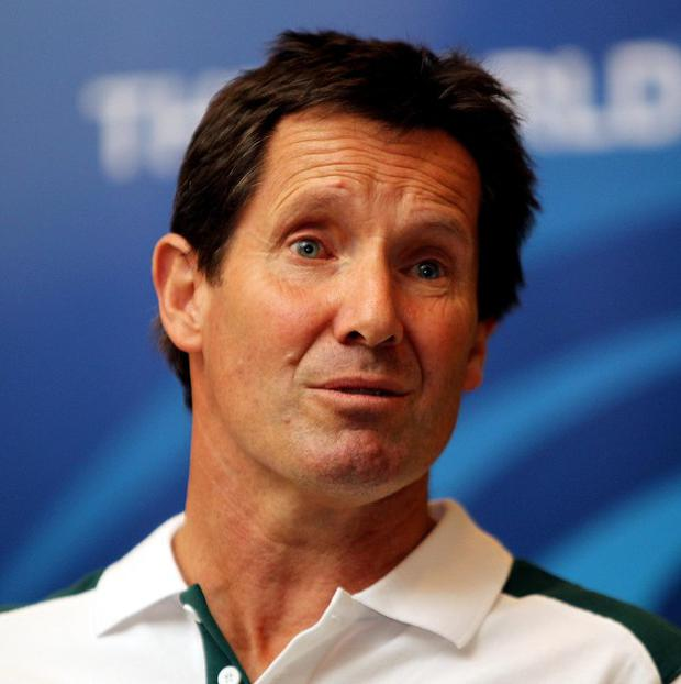 Robbie Deans, pictured, has distanced himself from comments made by Bob Dwyer