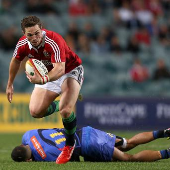 George North is a doubt for the first Test in Brisbane