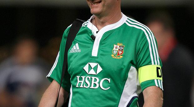 James Robson has been on four British and Irish Lions tours