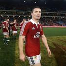 Brian O'Driscoll was penalised a number of times during the first test