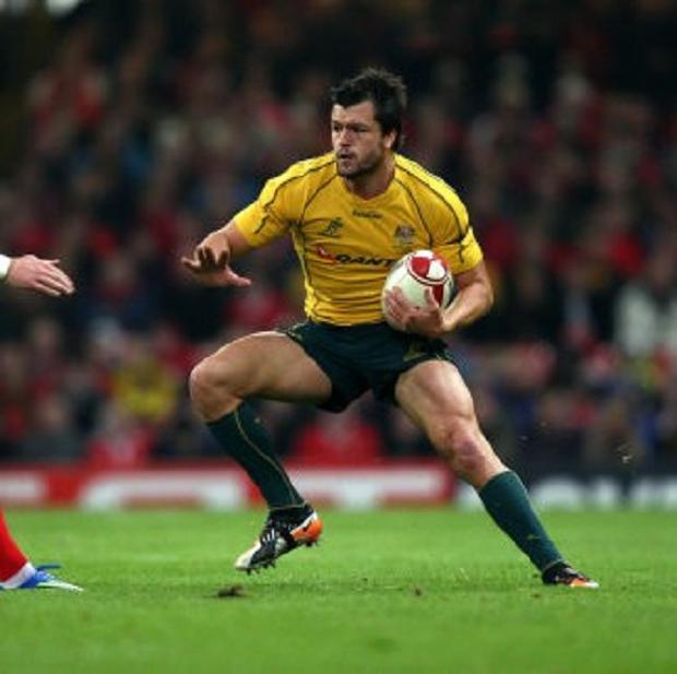 Adam Ashley-Cooper, right, has been impressed with the Lions' style of play