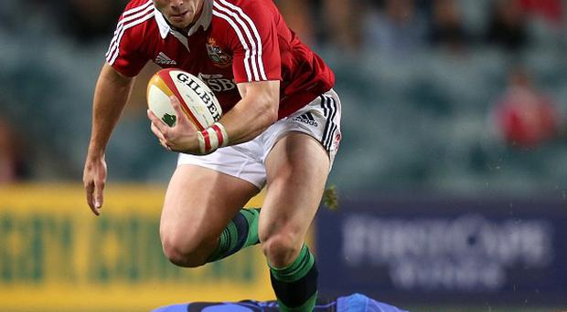 George North has shrugged off a hamstring complaint