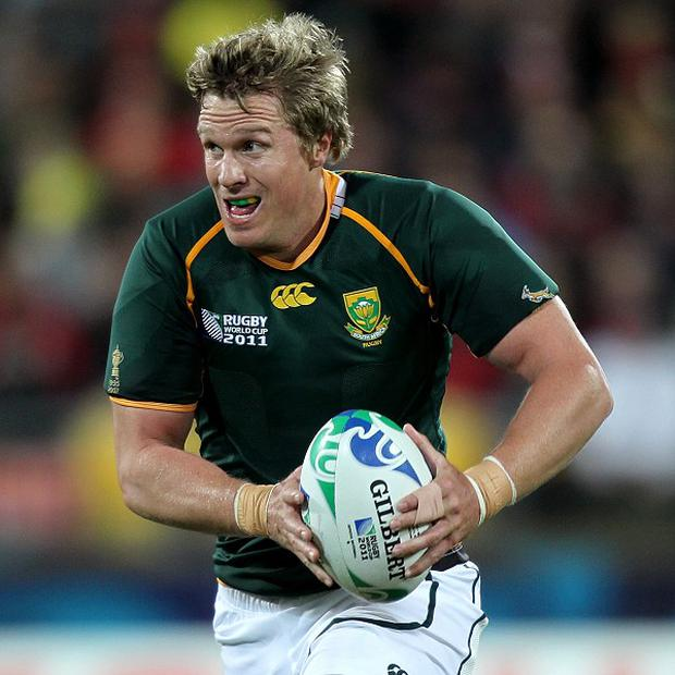 Jean de Villiers is expecting a tough physical battle against Samoa
