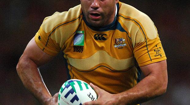 Experienced flanker George Smith has 110 caps for Australia