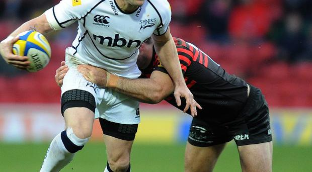 Mark Cueto, left, will call time on his career in 2014