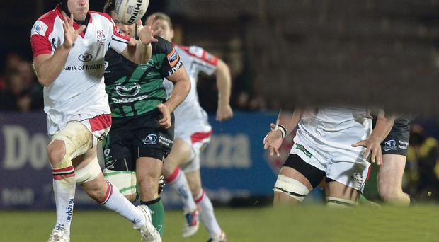 Stephen Ferris has signed a six-month extension to keep him at Ravenhill