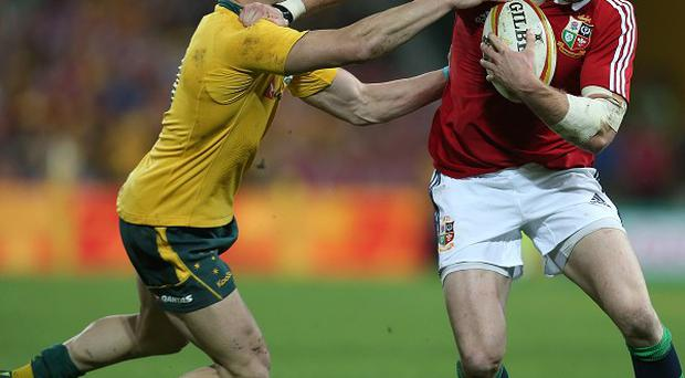 Australia have kept faith with James O'Connor, left, at fly-half