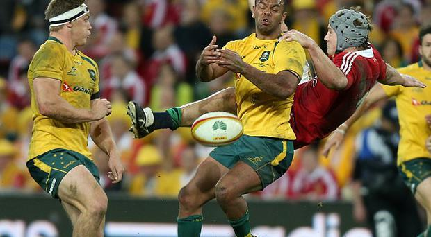 Robbie Deans was not impressed that Kurtley Beale, centre, and James O'Connor were out so late earlier this week