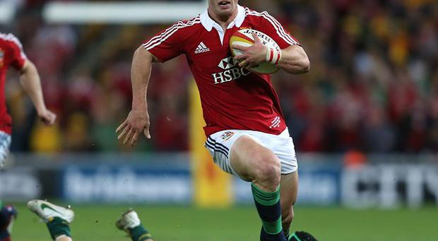 George North scored one of the great tries in Lions' history with a 60-metre solo run that saw him evade four tackles