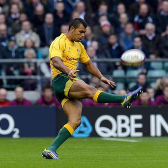 Kurtley Beale was one of Australia's stars in their one-point win over the Lions