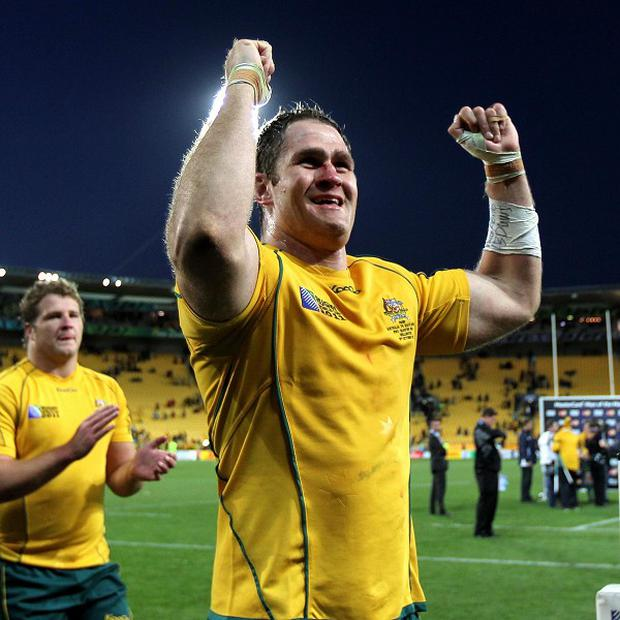 James Horwill will lead Australia out in the final Test on Saturday