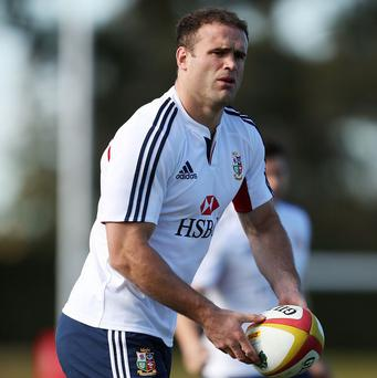 Jamie Roberts missed the first two Tests due to a hamstring injury