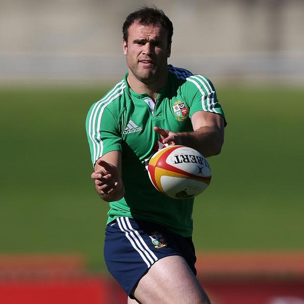 Jamie Roberts has recovered from a hamstring problem