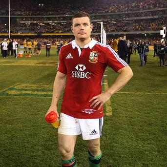 Brian O'Driscoll may have played his last game for the British and Irish Lions