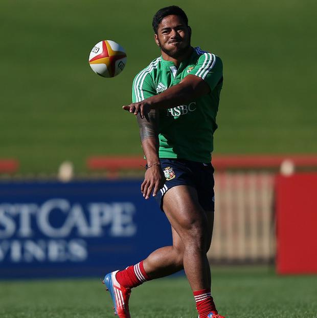 Manu Tuilagi won't be overawed if called upon from the bench by the British and Irish Lions in the final test