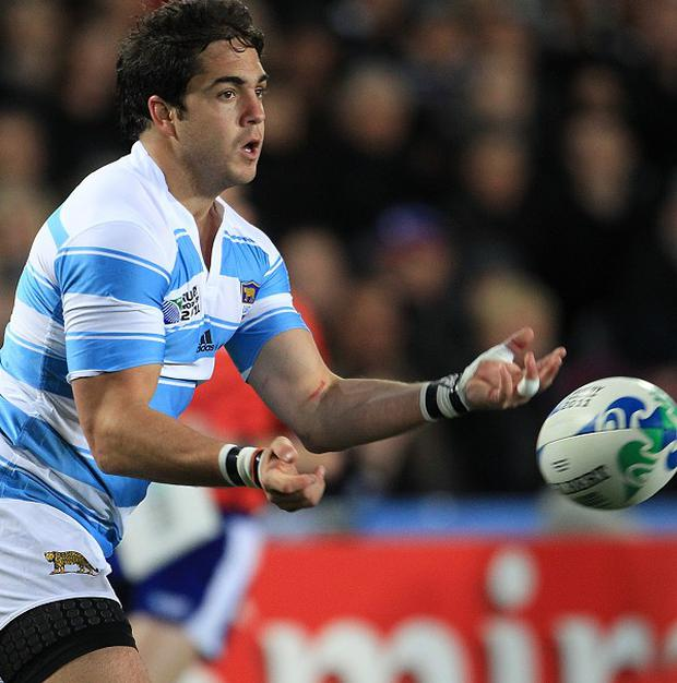 Horacio Agulla is enjoying life at Bath