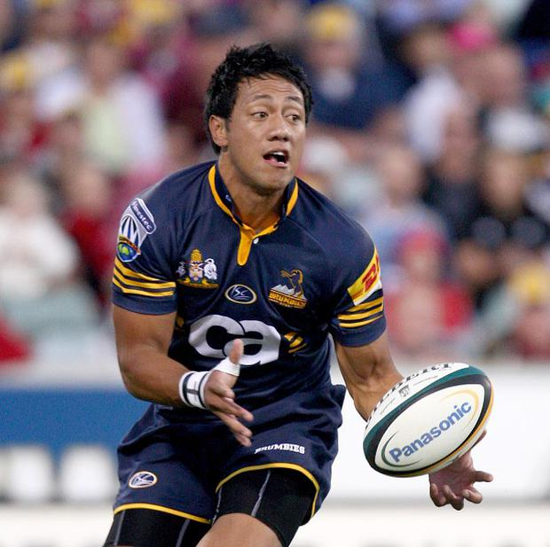 Christian Lealiifano says he learned valuable lessons on international duty