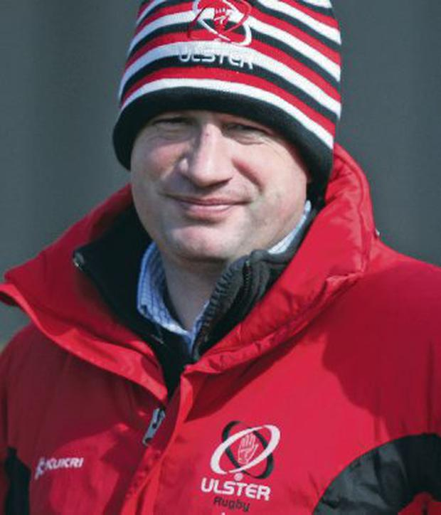 Ulster's Director of Rugby David Humphreys