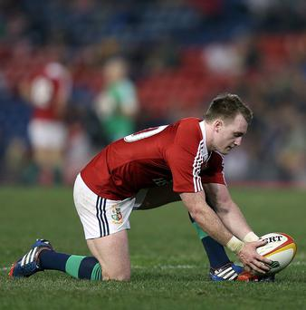 Stuart Hogg has set his sights on a Lions Test cap in 2017